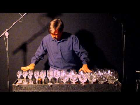 The Blue Danube Waltz on glass harp