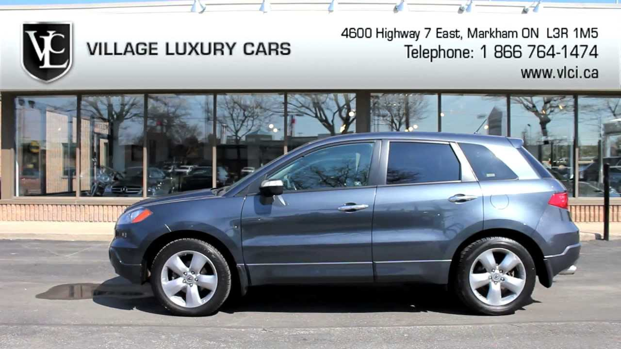 Acura RDX In Review Village Luxury Cars Toronto YouTube - Acura 2007 rdx