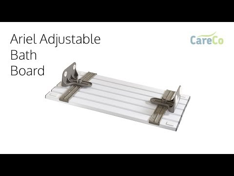 Arial Adjustable Bathboard Review - Safety Bath Seat