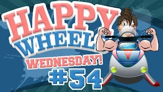 Happy Wheels Wednesday - #54 - SPIKY SNOWMOBILE.... w/ Hypercore Ripper