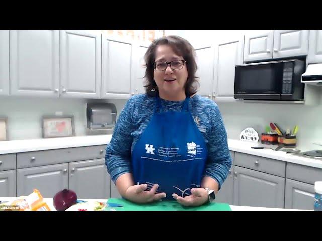 Wellness Wednesday 10/21 - Cooking Class with Jaqui Denegri
