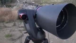 Celestron SkyProdigy 6 inch under the stars  FULL SCREEN  HD