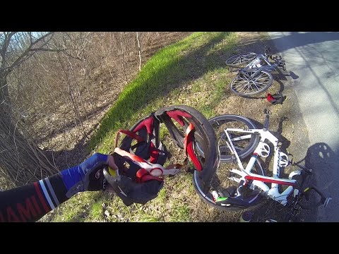 Freak Bicycle Accident: Wear Your Helmet