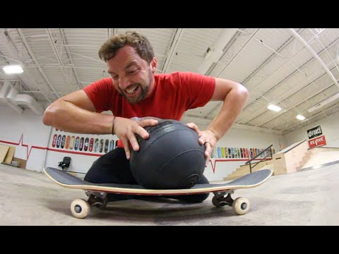 ReVive Skateboards Strength Test / MEDICINE BALL