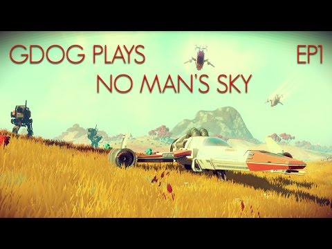 Gdog Plays NO MAN'S SKY EP1 Ship Repairs