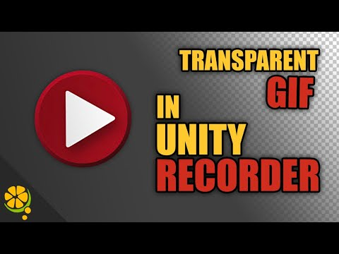 Unity Recorder Transparent Background Tutorial