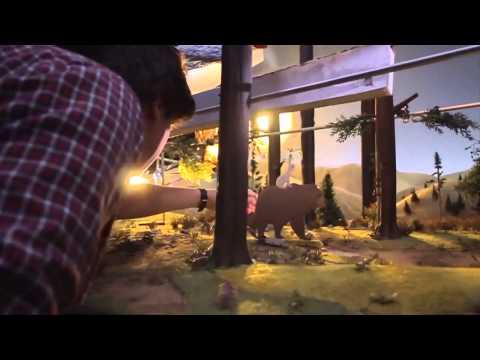 Как делают мультфильмы - красивое создание мультфильмов 2015