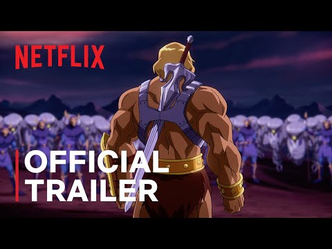 Masters of the Universe: Revelation Part 1 | Official Trailer | Netflix