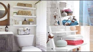30+ Small bathroom storage ideas - Bathroom organization ideas
