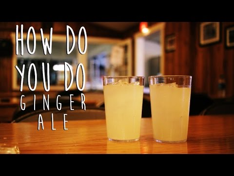 Homemade Ginger Ale (All Natural Ingredients) [How Do You Do]
