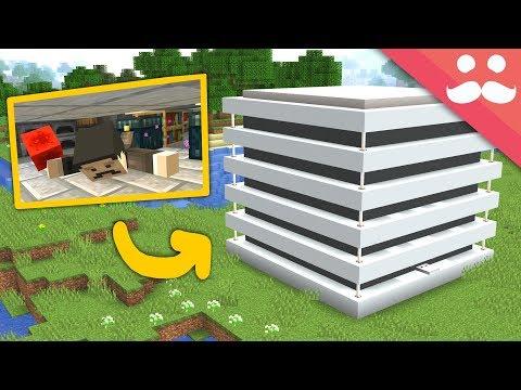Multi-Story CRAWLING PISTON HOUSE: Minecraft 1.14!