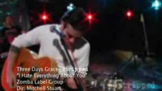 Three Days Grace - I Hate Everything About You (Live at Stripped) HQ, CC