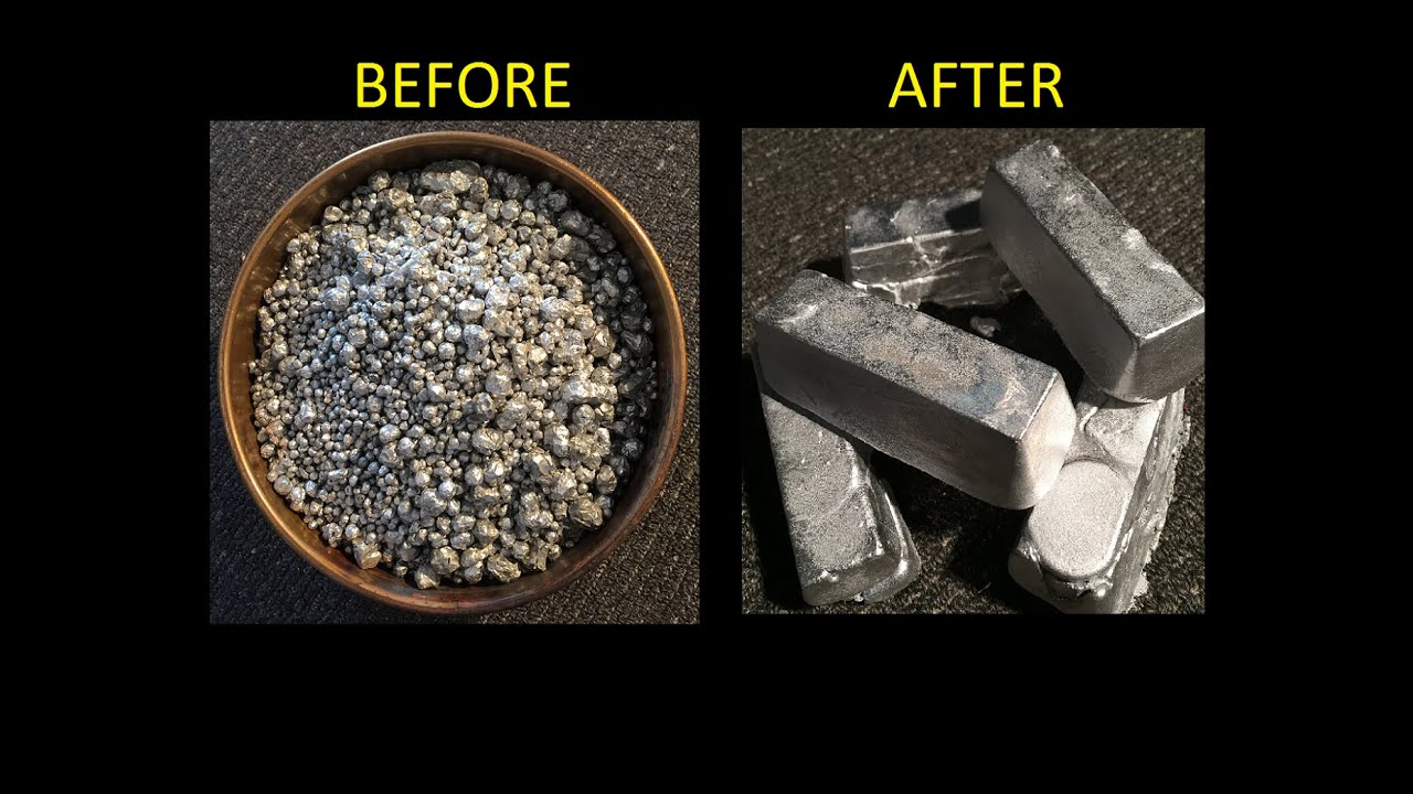 Image result for pouring metal into an ingot