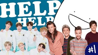 THE LIFE OF A DIRECTIONER + ARMY | One Direction & Bangtan Boys (BTS)  Animation MP3