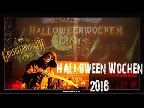 Halloweenwochen 2018 Presse Event in der Erlebniswelt Grusellabyrinth NRW