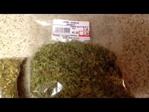 herb reviews Mugwort St.jhon wort lemon verbana organic 9-22-13 raise vibrations and frequencies