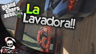 GTA 5 | WOW WOW MAGIC STRATUS EN LA LAVADORA - GTA V CARRERA DE LA MUERTE #441 | XxStratusxX