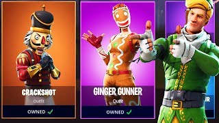 CRACKSHOT and GINGER GUNNER Returning to Fortnite!? Get OLD FREE SKINS in Fortnite Battle Royale!