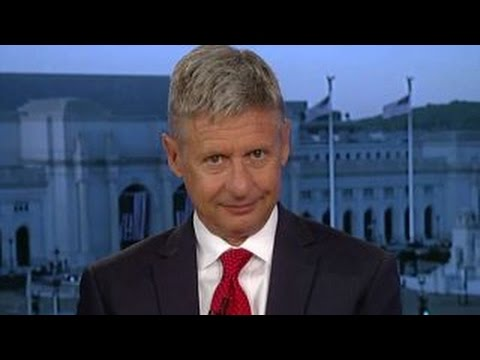 Gary Johnson on immigration, domestic and foreign policy
