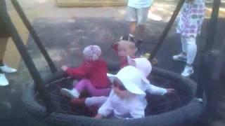 Barnen gungar