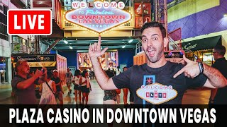 🔴 LIVE at Plaza Casino 🎰 DT VEGAS + Rudies Announcement!