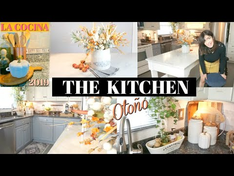 DECORANDO MI COCINA PARA Otoño, Cocina Tour + DIY 🍁 FALL KITCHEN DECOR IDEAS - CarolaMM