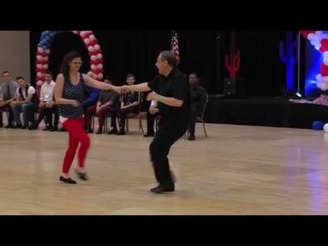 Carl Galletti & Kristine Sandt-Novice Division, West Coast Swing Phoenix 4th of July