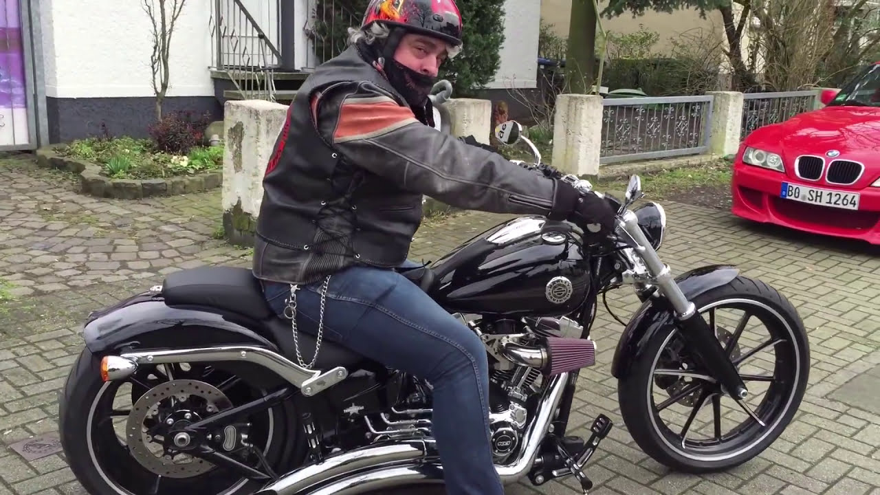 Harley Breakout Cvo >> Harley Davidson FXSB Breakout 800 Rpm Sound - YouTube