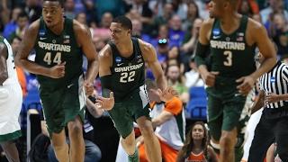 First Round: Michigan State defeats Miami