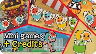 All Mini Games + English Credits【Taiko no Tatsujin Switch Ver.】