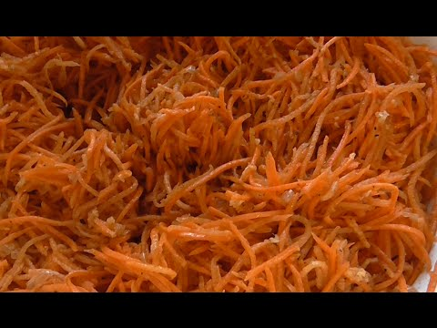 Корейская морковка . Рецепт морковки по- корейски ...