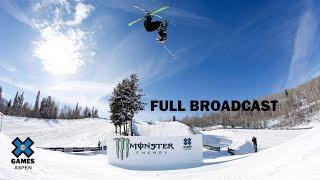 Jeep Men's Ski Slopestyle Elimination: FULL BROADCAST | X Games Aspen 2020
