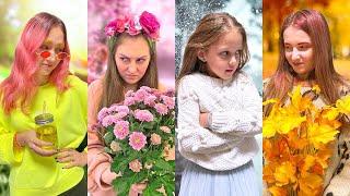 4 СЕЗОНА ПРАНКИ! Зима, весна, лето, осень!