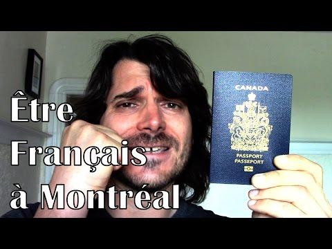 Être Français à Montréal