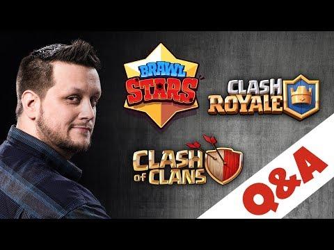 Q&A: CLASH ROYALE, BRAWL STARS LAUNCH, FUTURE OF CLASH OF CLANS