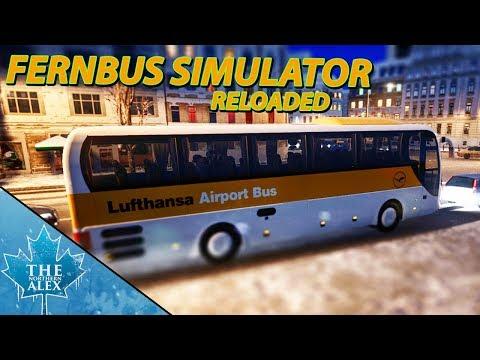 Fernbus / Coach Simulator Reloaded - Lufthansa Express Bus