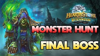 WITCHWOOD MONSTER HUNT:  Final boss HAGATHA