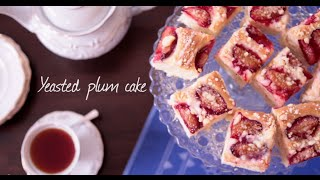 Yeasted Plum Cake | Video Recipe