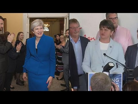 'Positive talks' between Conservatives and DUP over power deal