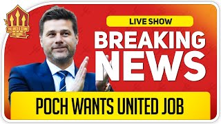 Pochettino Wants Solskjaer's Job! Man Utd News Now