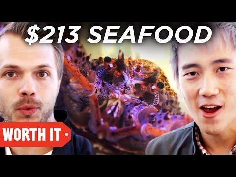 $3 Seafood Vs. $213 Seafood