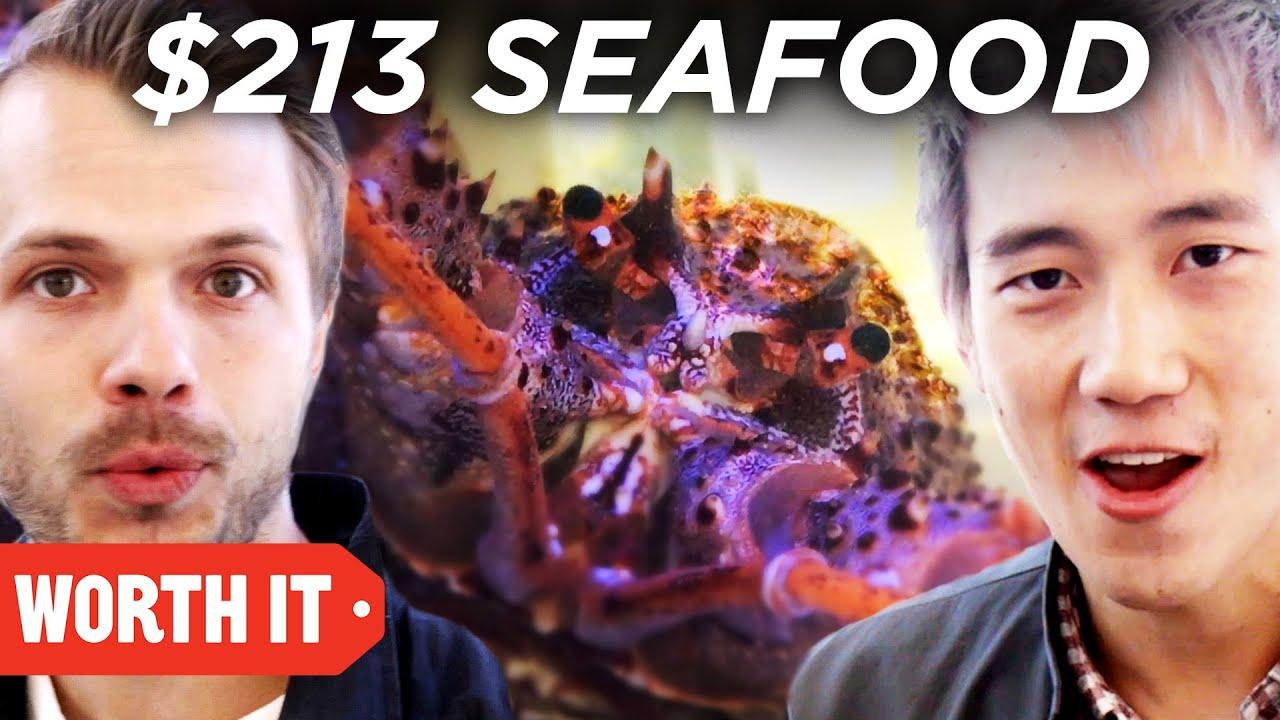$3 Seafood Vs. $213 Seafood • Australia