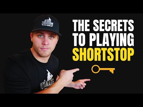5 Simple Keys 🔑 To Become A Better Shortstop - Baseball Fielding Tips