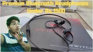 Premium Bluetooth Headphone Under Rs.1500 | Wings Switch | Buy Before Out of Stock | 10nm Drivers