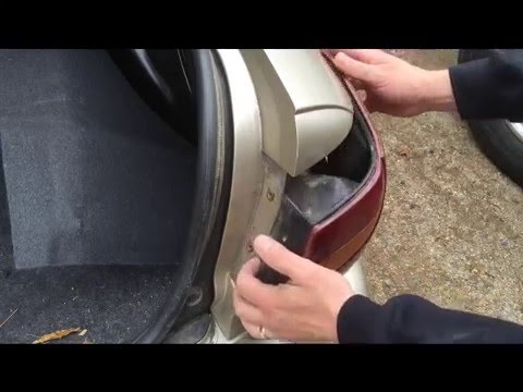 how to change a tail lamp (saturn) tail light socket brake light wiring diagram howstuffworks