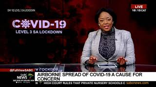 COVID-19 Pandemic | Airborne spread of COVID-19 a cause for concern