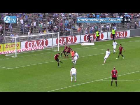 WFV-Pokalfinale 2017, SF Dorfmerkingen vs Stuttgarter Kickers-Spielbericht