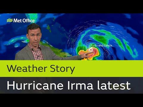 Major Hurricane Irma latest forecast