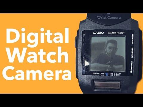 Casio Watch Digital Wrist Camera WQV-1 2220 Module Retro Tech