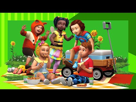 The Sims 4: 7 Toddlers Challenge! [2020 Edition] - #1